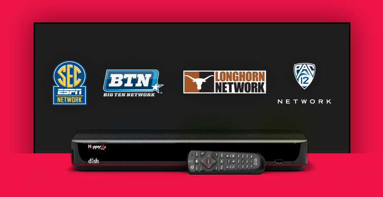 DISH College Sports TV Packages - Marietta, Georgia - Vital Link Satellite - DISH Authorized Retailer