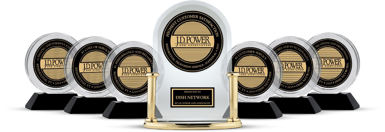 DISH Customer Satisfaction - Ranked #1 by JD Power - Vital Link Satellite in Marietta, Georgia - DISH Authorized Retailer