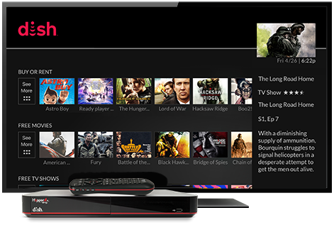 Ondemand TV from DISH | Vital Link Satellite